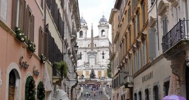 [義大利遊誌]Rome︰山上天主聖三教堂.Chiesa di Trinita del Monti, Piazza di Spagna