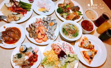 [飯店。buffet]