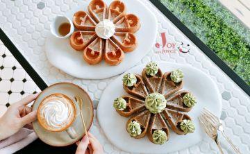 4MANO CAFFÉ 民生店♥ N訪台北第一麻糬鬆餅 新開幕抹茶甜點下午茶 咖啡冠軍的不限時網紅店!♥ Joyce食尚樂活。食記