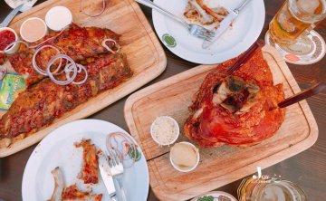 [奧地利-維也納]傳統料理豬肋排Salm Bräu 自釀啤酒 美食推薦 ♥ 小Connie愛夢遊。遊記