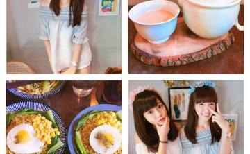 [台灣-台北]少女心爆發 戴著夢幻花圈下午茶 花疫室 ♥ 小Connie愛夢遊。食記
