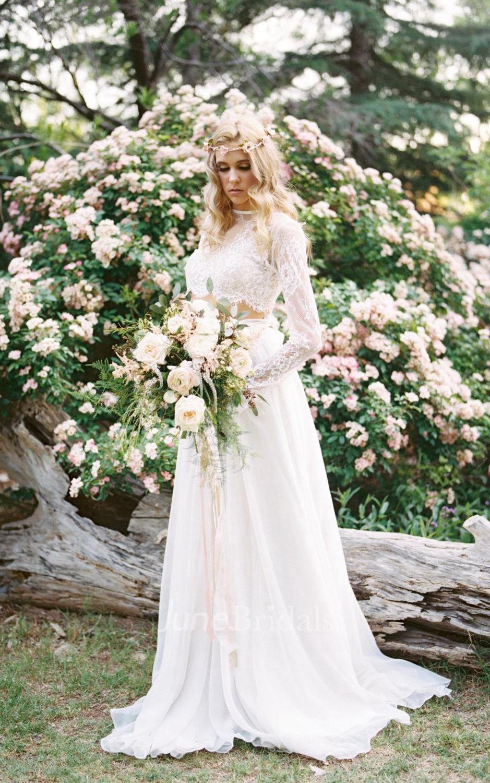 bohemian wedding dresses for sale boho wedding dress Wedding Separate Florence Skirt Chiffon 10 Train Dress