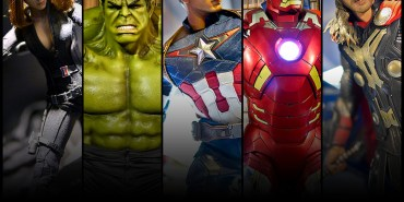 【台中展覽】2015漫威超級英雄特展.6月13-8月9日(朝馬工商展覽館)。復仇者聯盟,美國原廠道具首次來台展出,非常值得一看。
