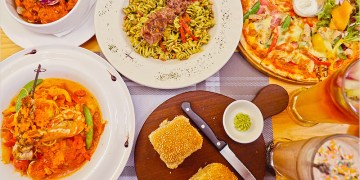 台中義大利麵 | Fatty's 義式創意餐廳(公益店)-每天手工新鮮製麵,多款麵條自由搭配,雙拼披薩好好吃。