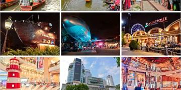 泰國曼谷必去景點懶人包 | 泰想再去的曼谷夜市、水上市場、曼谷創意市集、曼谷百貨公司、購物商城。