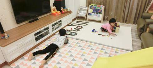 【育兒好物】韓國DreamB超唯美寶寶爬行地墊/遊戲墊/原木書架/原木椅!