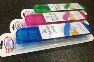 【好物分享】Qubies澳洲冷凍食物分裝盒-柔媽咪做副食品的神奇幫手!