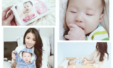 <育兒>寶寶冬日肌膚保養。嬌生嬰兒護膚柔濕巾。