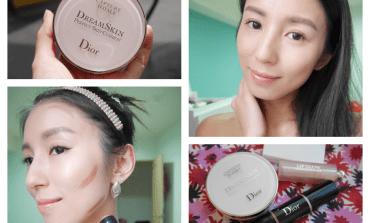 <底妝>彷彿沒有化妝的天生美肌!Dior迪奧夢幻美肌氣墊粉餅。