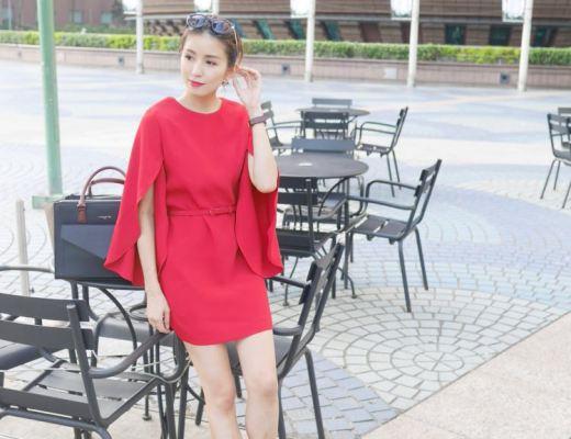 <穿搭>JS Select五套OL優雅洋裝分享。