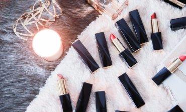 <彩妝>最夯的玫瑰色&豆沙色一次到齊!超顯色Estee Lauder絕對慾望精油唇膏12色全試色!