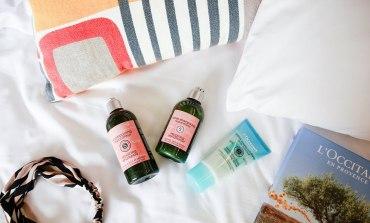 <美髮>給頭皮自在呼吸的沁涼舒適感。L'OCCITANE草本精華油頭髮護理系列。