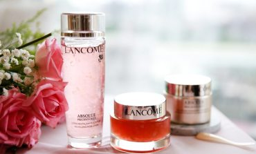 <抗老>滿足水做女人的保養需求!Lancome絕對完美玫瑰霜及花瓣精露。