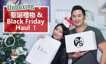 <影音>Unboxing!聖誕禮物 & Black Friday Haul