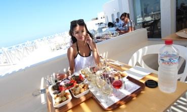 <遊記>蜜月-希臘。眺望愛琴海的酒莊-Santo Wine Winery。