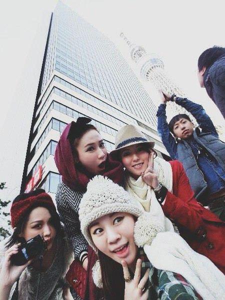 <遊記>六妞妞缺二之東京5日遊 PART III-梨花的店+晴空塔+瀨里奈本店。