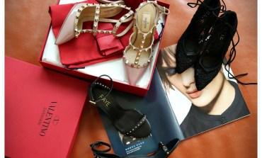 <精品>結婚三週年禮物開箱。Valentino Rockstud。