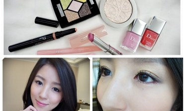 <彩妝>2016春季彩妝趨勢!繁花盛開的Dior溫柔粉紅女人妝。