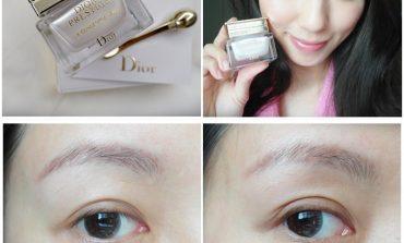 <眼>陶瓷雙滾珠亮眼棒一次打擊眼周浮腫&黑眼圈! Dior精萃再生花蜜眼霜。