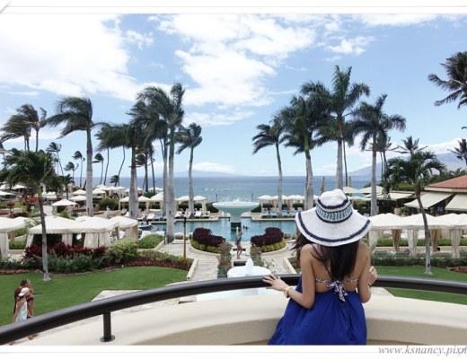 <遊記>2015北美-夏威夷Maui-Four Seasons四季酒店。
