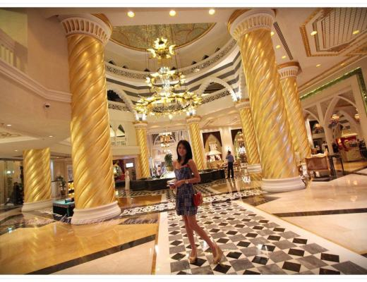 <遊記>蜜月-杜拜住宿。Jumeirah Zabeel Saray 。
