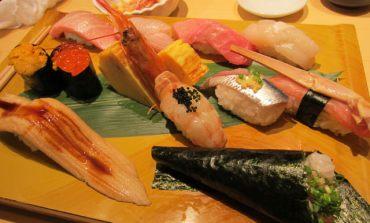 <遊記>讓我體會到魚在嘴裡游泳的生魚片。東京涉谷-梅丘寿司の美登利壽司 。