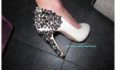 <美鞋>私物。超氣勢!Sam Edelman鉚釘鞋。