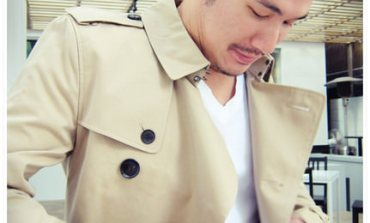 <精品>私服。男人也要一件經典Burberry風衣。