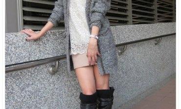 <穿搭>秋冬名媛系女孩穿搭。還是APPLESHOP最懂我。