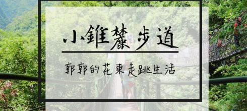 【花蓮遊記】太魯閣小錐麓步道~近遊客中心輕鬆寫意的景觀型步道