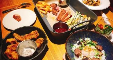 中和環球 mastro cafe 戰斧豬排 多汁美味豬排與炸雞 豐富高貴的丼飯 喝酒放鬆聚餐