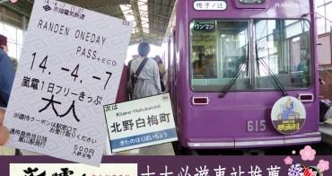 京都交通  │ 京福電氣鐵道・嵐電 │ 十大必遊車站推薦