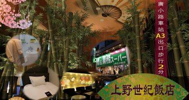 東京住宿-8 | 上野世紀飯店・交通美食購物便利性一級棒|職業代購與購物狂進貨都住這裡