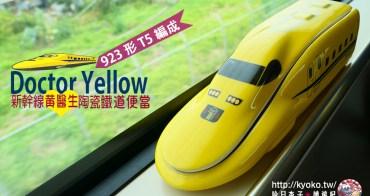 日本鐵道便當 新幹線黃醫生・923形T5編成 Doctor Yellow・造型便當-2
