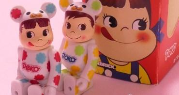 不二家 PEKO | 2013年・BE@RBRICK・PEKO & POKO 庫柏力克熊造型娃娃 2入組  | (收藏娃娃系列16)