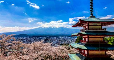 日本東京|富士山-新倉山淺間神社-2019日本東京賞櫻景點交通,被評為全世界攝影師在死前ㄧ定要捕獲景點之一|