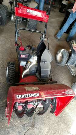 Small Of Used Snow Blowers