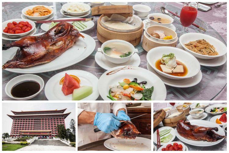 [台北中山]2018台灣美食展優惠,作夢都想不到!享用四人餐平均一人只要800元!圓山大飯店-金龍廳