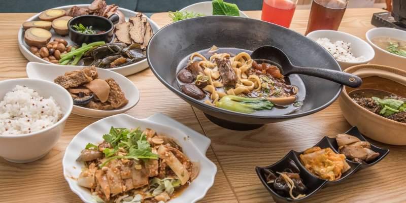 [台北中山]中山區美食推薦,小巷弄的文青牛肉麵餐館~溫溫wenwen牛肉麵餐館