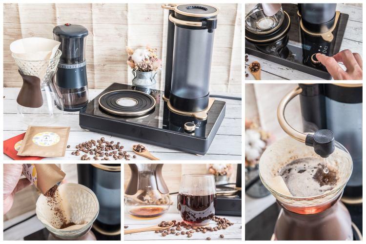 受保護的文章:[美型家電]手沖咖啡零技術!有了它,人人都是手沖咖啡大師!GEESAA咖啡樂譜智慧型手沖咖啡機