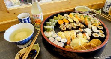 【台南美食】現點現做|提供外送|個人版壽司.便當|大份量壽司桶~福島壽司研究室