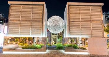 【台南中西區】台南夜拍推薦|城市報時器晚上9點全部啟動|海安藝術街2.0版~街道美術館PLUS