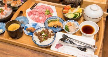 【台南美食】網路和牛拍賣起家來台南|牛肉燒肉定食299元起|一人一爐小鍋燒烤|干貝握壽司|和牛握壽司~~東港強和牛燒肉台南旗艦店