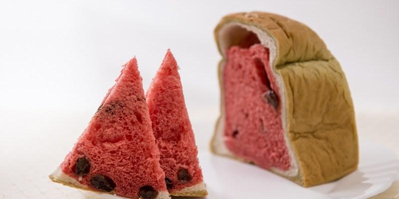 台中伴手禮推薦》美娜甜心  西瓜土司 - 美味創意吐司