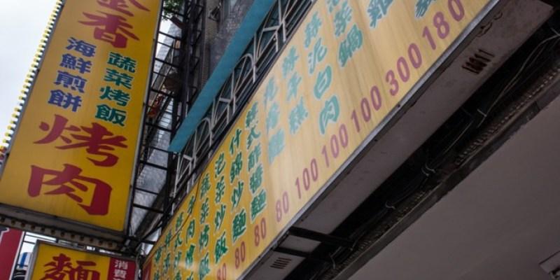 桃園美食推薦》韓國金香烤肉麵飯館 - 評價韓式料理