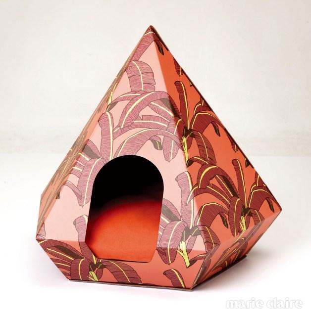 호주의 그래픽 디자이너 메건 이사벨라의 패턴을 입힌 캣 다이아몬드 박스
