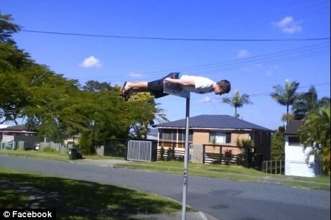 Facebook 'planking' craze under fire in Australia