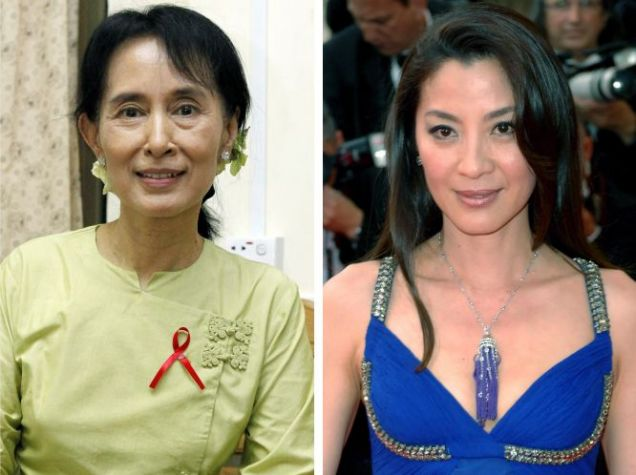 Michelle Yeoh, Aung San Suu Kyi