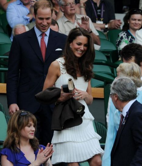 Kate Middleton, Alice Temperley dress, Andy Murray, Wimbledon