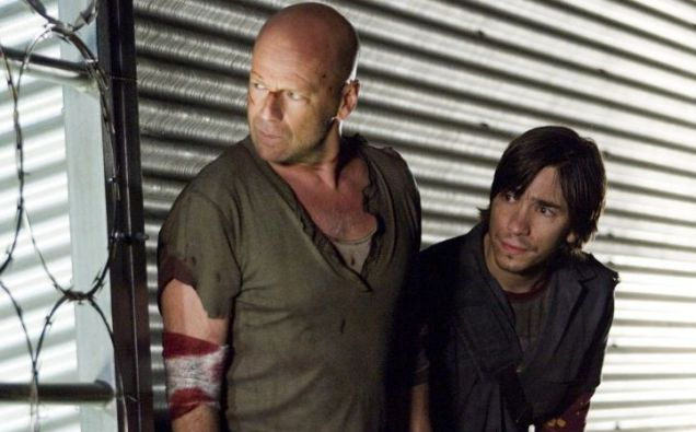 Bruce Willis, Justin Long, Die Hard 5, A Good Day to Die Hard